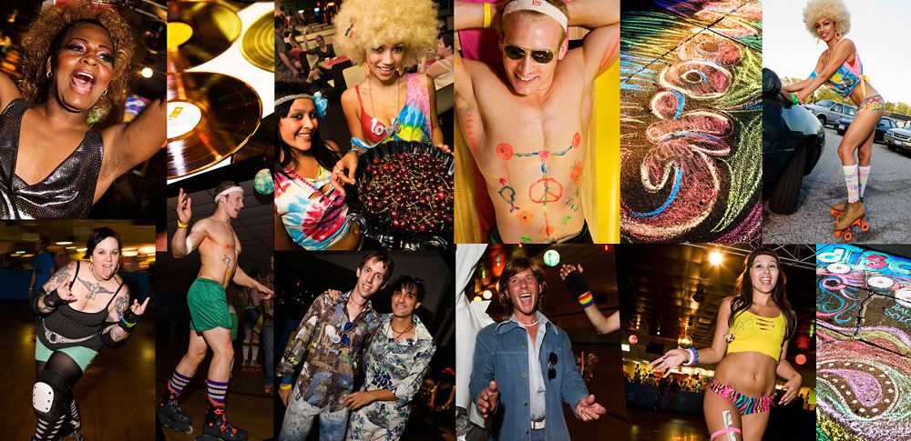 70s Roller Disco Dance Party